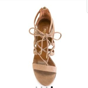 Aquazzura Firenze Holli Sandal 85